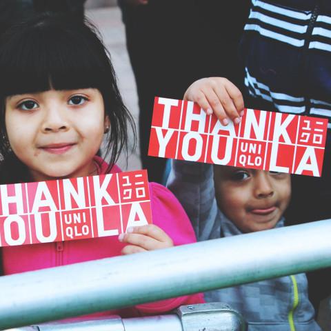 UNIQLO // Thank You L.A.